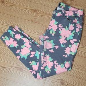 Celebrity Pink - Floral Denim Jeans